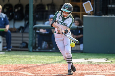 Yale vs Dartmouth Softball