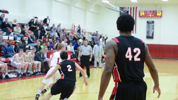 2014-01-21 Basketball Varsity St. John's @ St. Thomas