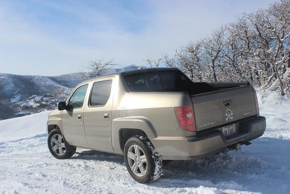 Snowshoeing in Draper