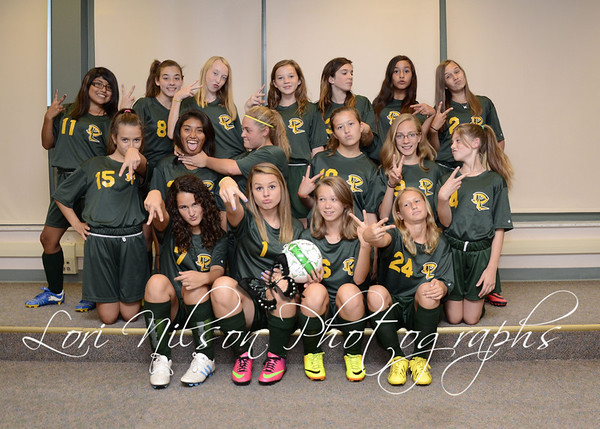2013 Girls MS Soccer