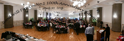 Good Will Fire Co. No. 1, Trexlertown, PA 100th Anniversay Banquet