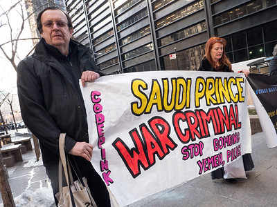 New Yorkers Say No to Saudi Crown Prince's 3-Year War Against Yemen