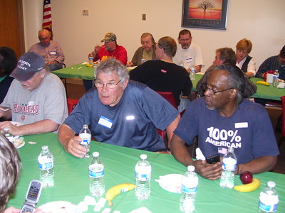 2015-04-08 - Men's Bible Study serving Veterans Of America