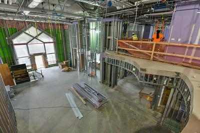 Commercial Interiors- Ronald McDonald House Progress 8-20-18