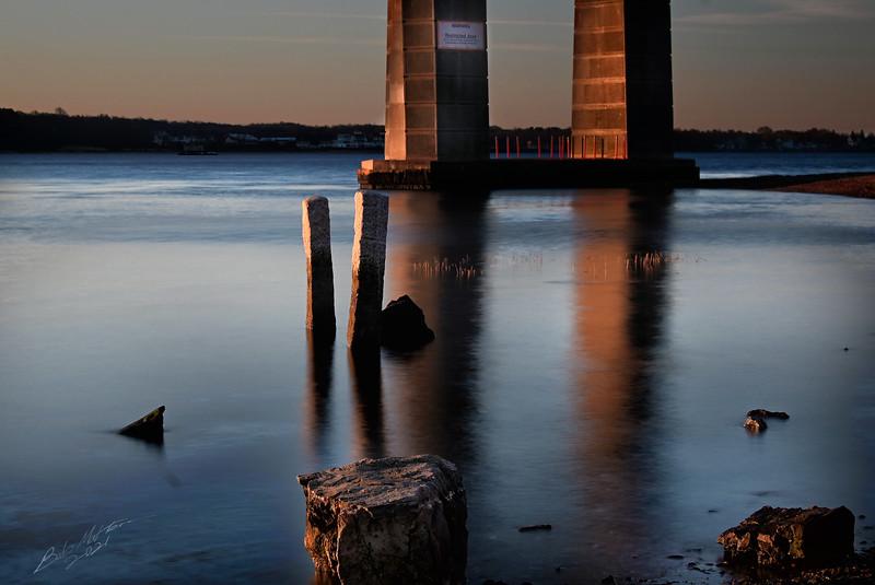 Mount Hope Bridge Sunrise