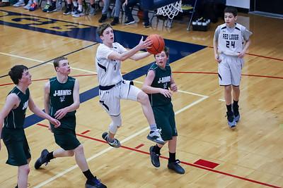 Red Lodge Boys Basketball Highlights 7-8th Grade 2020
