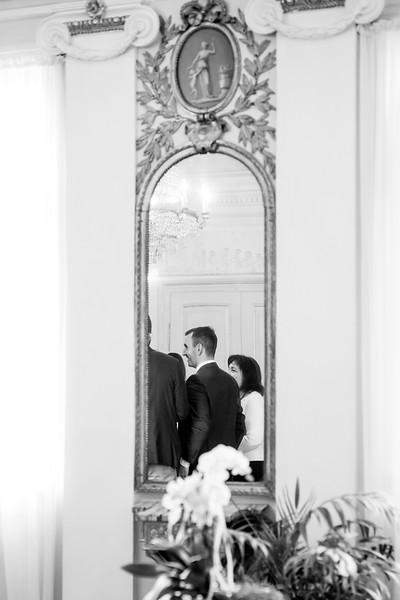 La Rici Photography - Intimate City Hall Wedding 063BW.jpg
