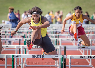 Jerry Crews Inv. 100 High Hurdles - Girls