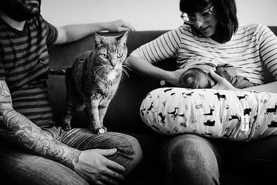 Fotografia Documental de familias · Sesión de recién nacidos · Vicente