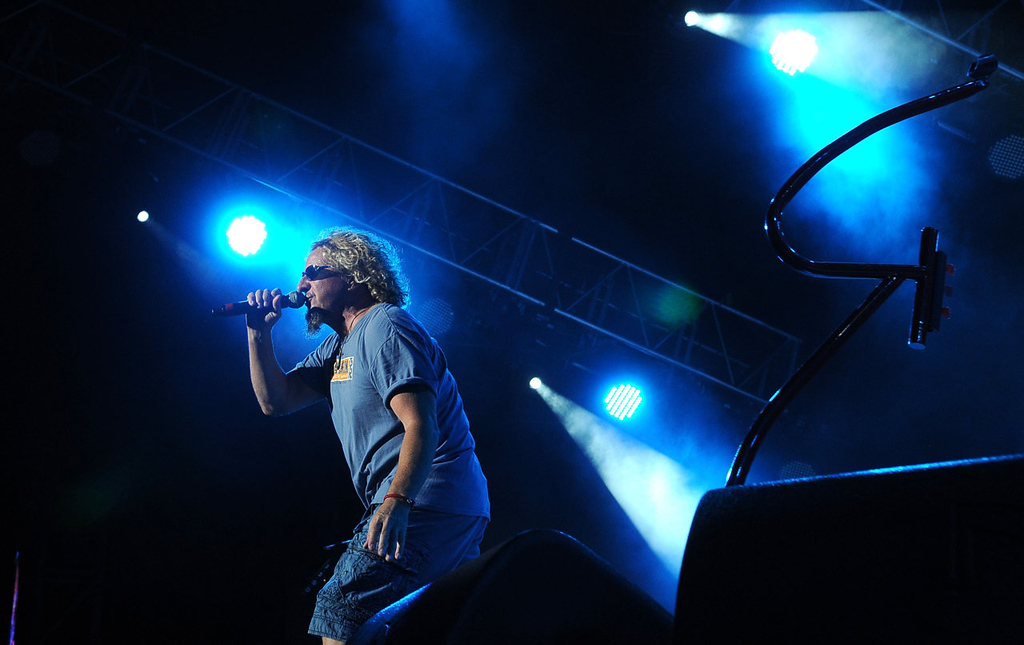 . Sammy Hagar performs. (Pioneer Press: Sherri LaRose-Chiglo)