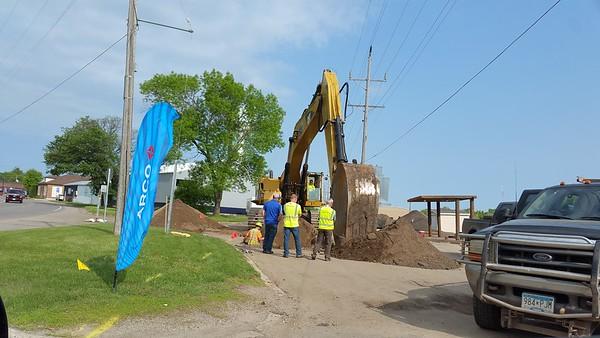 June 2019 Brooten street work
