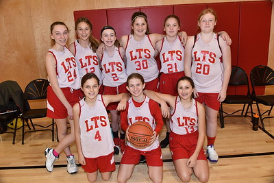 Meet The LTS Girls M.S. Girls Basketball Team photos by Gary Baker