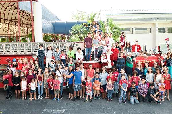 2016 Kids Cancer Foundation  Breakfast with Santa at the SF Fairgrounds