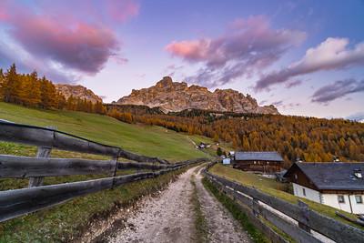 Highlights Dolomites fall 2016