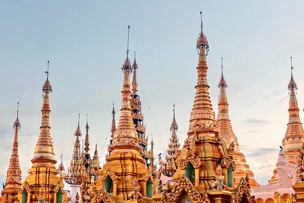 La Pagode Schwedagon - détails
