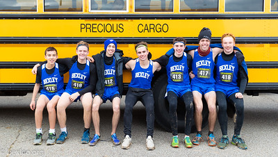 Cross Country Boys at States
