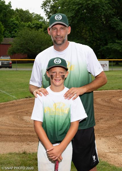 2020 Pennridge Little League Coach-Player Shots