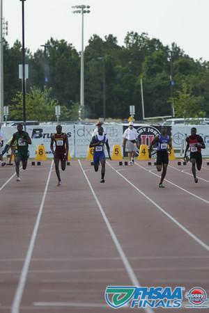 Class 3A - Running Event Finals - Boys 100m Dash