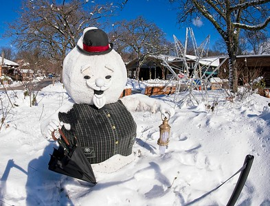 A Winter Walk at the Cleveland Metroparks Zoo