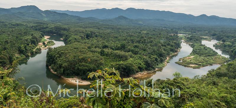 COuntryside near Ye, Myanmar