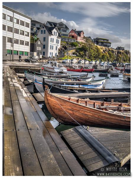 Row of Fishing Boats   Photography by Wayne Heim