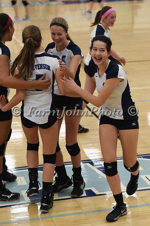 10/14/2014 Livonia Stevenson vs. Northville - Girls JV Volleyball