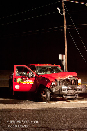 01-23-2012, Commercial MVC, Pittsgrove Twp. Salem County, Rt. 40 and Fork Bridge Rd.
