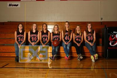 Lincoln girls' basketball GBB1415