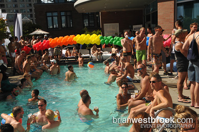 Rapture: Heatwave --pool party at Westin Grand: Vancouver Pride 2011 (30 July 2011)