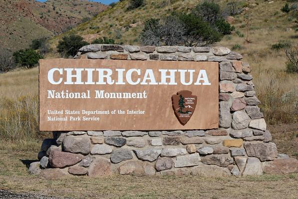 Chiricahua Mountains National Monument / Arizona