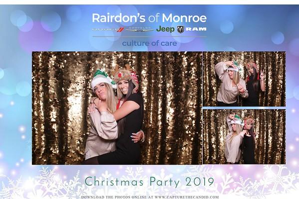 Rairdon of Monroe Holiday Party