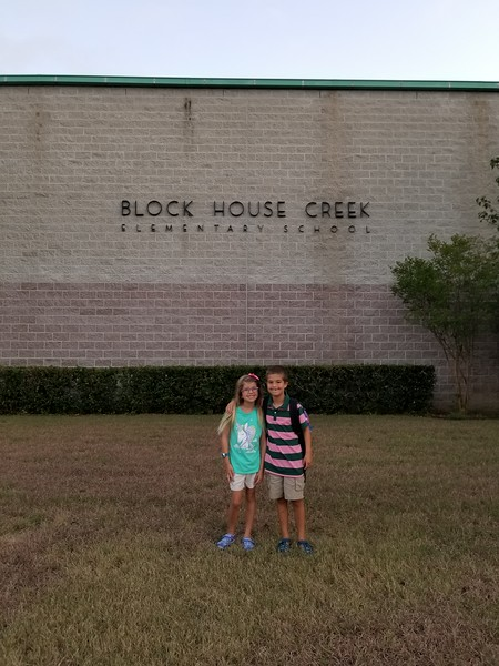Payton and Michael | 2nd and 3rd | Block House Creek Elementary School