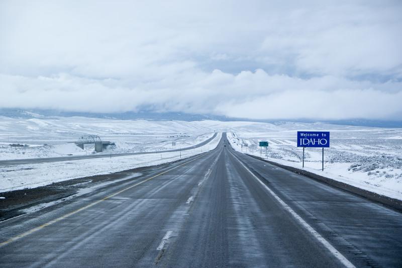 I-15 Montana/Idaho Border