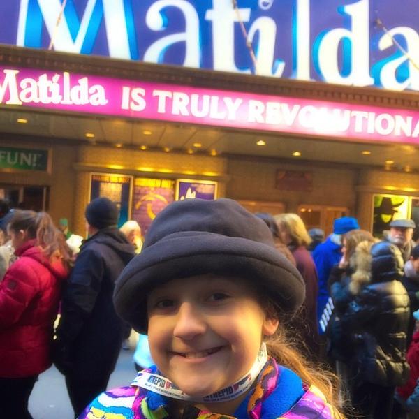 Final NYC surprise: Matilda