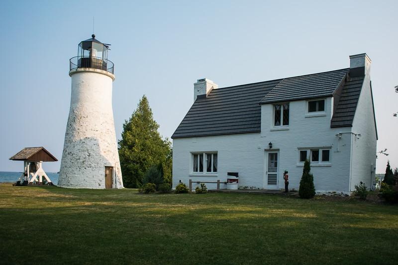 Old Presque Isle, MI Light