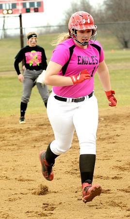 Geneva at Edgewood softball
