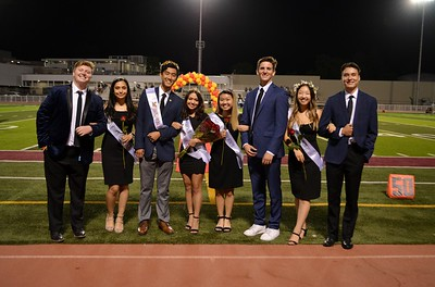 LCHS Homecoming Events Salute King, Queen
