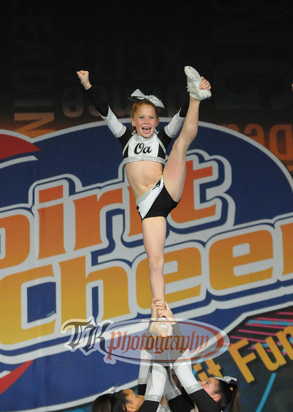 OA Tigers Spirit Cheer Peabody
