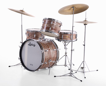 Ludwig Oyster Pink Pearl Downbeat