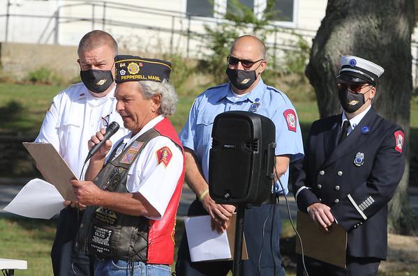 Pepperell 9-11 ceremony