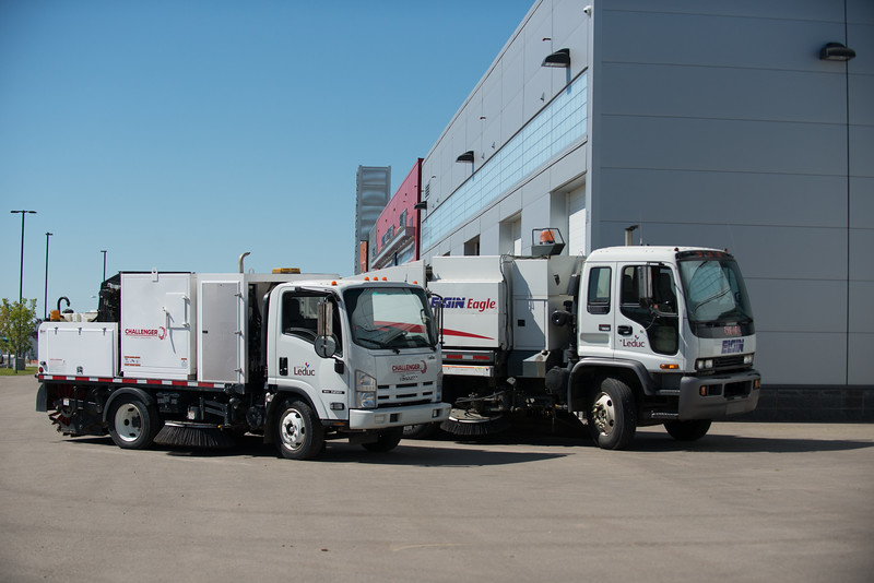 City of Leduc - Operations building - sweepers