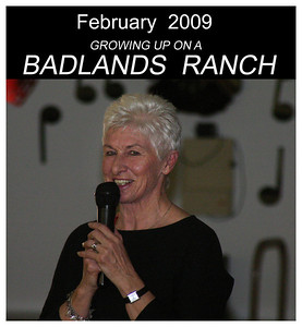 """Claudia Little and her husband, David, still occasionally make the trek back to Jackson County south of Kadoka to visit the old """"2-0-2"""" ranch.  That's where Claudia grew up, helping her father and mother on their ranch perched on the edge of the South Dakota badlands.  Many in the audience of the Spearfish Area Historical Society meeting at the Senior Citizen's Center could easily relate to her stories.  While her experience was not unique, her effective style of story-telling -- coupled with her authorship of two children's books about the experience -- set her apart from the crowd.  It was the latest in a series of excellent presentations lined up for the 2008-09 program list for the society."""