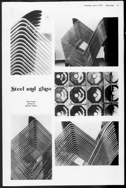 Daily Trojan, Vol. 65, No. 105, April 04, 1973