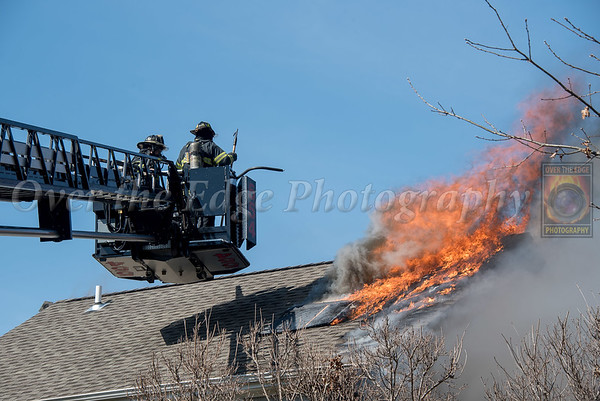 East Norwich 3rd Alarm House Fire 04/07/2019