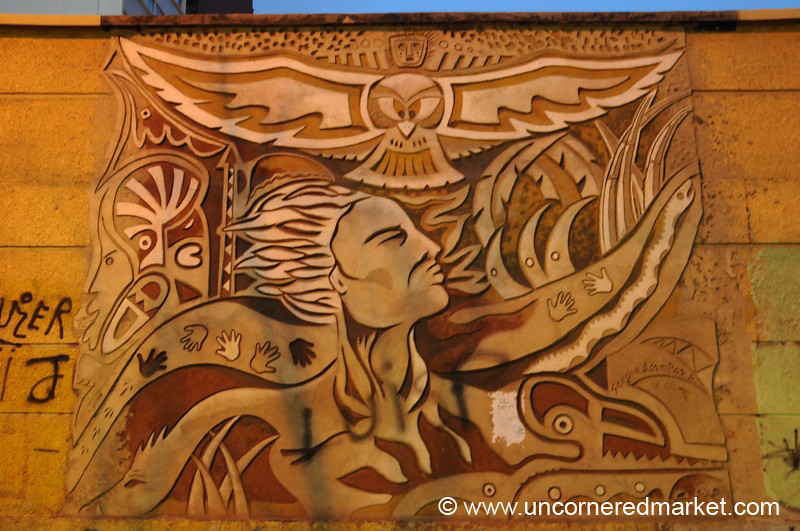Mural - La Paz, Bolivia