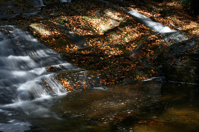 2008 Oct Cathey's Creek Falls, Pisgah National Forest, NC