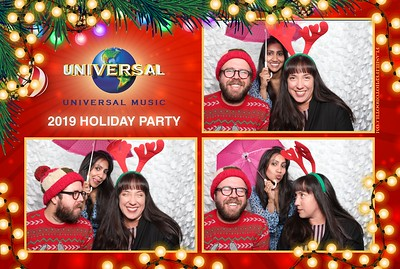 Universal Music Group Holdiay Party 2019