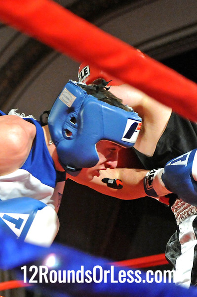 Bout 9 Adam Figliuzzi, Lorenzo Scott, U. of Mount Union -vs- Kenneth Austen, Strongsville  MMA, Lakeland College, 152 lbs, Novice