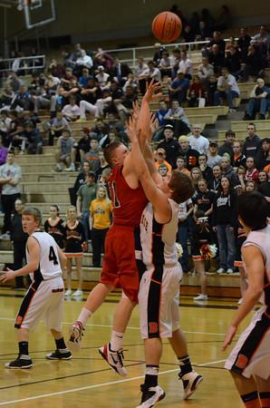 Varsity Boys Basketball vs Beatrice-Districts