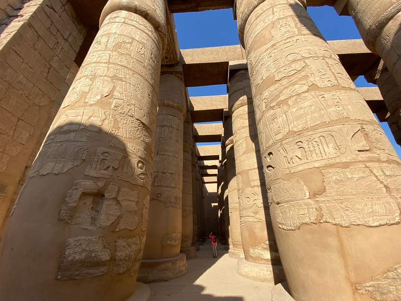 My favorite part was the Hypostyle Hall, with its' 134 massive columns!